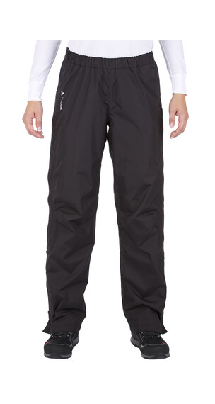 VAUDE Fluid Full-Zip Pants Women black